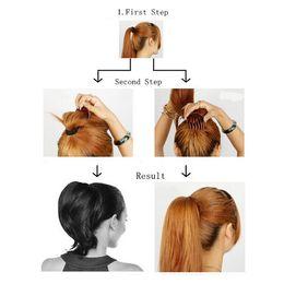 Women Black Hair Styling Clip Stick Bun Maker Braid Hair Accessories Tool New
