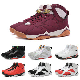 Wholesale Drop Shipping Basketball Shoes Men Retro Dan VII Sneakers Boots Authentic Discount Outdoor Hot Sale Sports Shoes Size