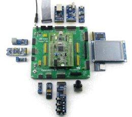STM32F4DISCOVERY STM32F407VGT6 STM32F407 STM32 ARM Platine de développement Cortex-M4 +17 Modules Kit = Open407V-D Paquet Boîtier B à partir de cas de développement fabricateur