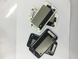 Wholesale High Quality Back Glass Battery Housing Door Back Cover Replacement Part For Iphone Model G S