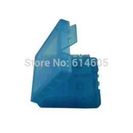 Azul 16 en 1 juego de tarjeta de memoria porta llevar caja de la cubierta de la caja para Nintendo DSi NDSi juego desde memoria xbox proveedores