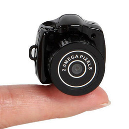 Wholesale Brand New Camcorder Video Recorder DVR Mini Spy Camera Hidden Pinhole Web cam Y2000