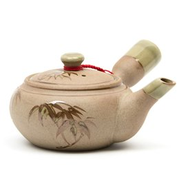 Wholesale 250ML Handmade Bamboo Chinese Kongfu Tea Pot Set Traditional China Tea Sets Chinese Tea Pots Kettle Ceramic Teapot Pitcher