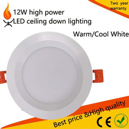 Wholesale 12W surface mounted offic home shopping Led Recessed Ceiling Down Lights Angle Warm Cool White AC V