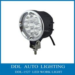 Wholesale 2pcs Hot Sale New W V Cree LED Work Light offroad fog light K x4 ATV Tractor Train Bus Flood Beam