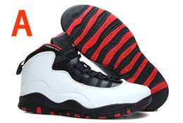 Wholesale 2016 Cheap retro X men Basketball Shoes White Steel Grey Powder Blue Chicago Seattle Blue Bobcats Infrared Trainers Boots Sneaker