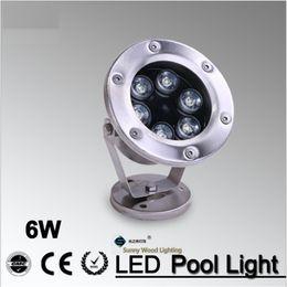 IP68 LED fountain light LED pool light Led underwater light, piscina , 6W 24VAC Led landscape spot lamp LPL-A-6W-24V