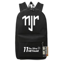 Neymar backpacks kids school bags backpack for teenage boys girls barcel souvenir bookbag soccer travel bags
