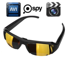 1080p 30fps Spy Hidden DVR Camera Camcorder Eyewear Sunglasses Video Recorder DV CAM Gold Black Lens