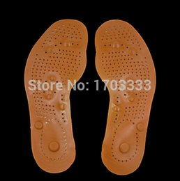 Wholesale Foot Care Feet Insole Massage Shoe Pads Magnetic Therapy Thenar Massage Healthy insoles Pair