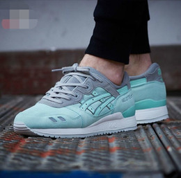 Whosale 2016 New Asics GEL-Lyte III Men Women Running Shoes High Quality Cheap Training Lightweight Online Retro Basketball Shoes Eur 36-45