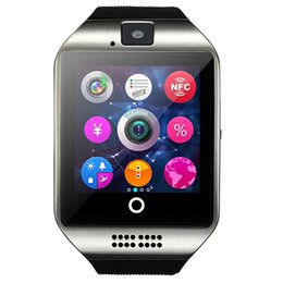 Wholesale Bluetooth Smart Watch Apro Q18s Support NFC SIM GSM Video camera Support Android IOS Mobile phone pk GT08 GV18 U8