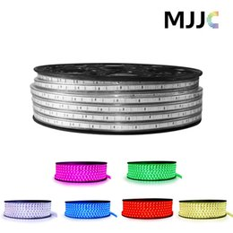 50M IP67 110V 120V 220V 230V SMD5050 60LEDs M RGB Colorful LED Flexible Strip Lights for Christmas Lighting Free Shipping by FEDEX
