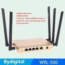 Wholesale 300Mbps high speed M Memory Dbi high gain antenna mw high power N B G USB WIFI roteador g g Wireless Router
