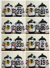 2017 série de hockey Chicago Blackhawks Maillots # 72 Artemi Panarin 2016 Stade Série Maillots Blanc Jersey Hockey sur glace Authentiques Mailles Stitched série de hockey autorisation