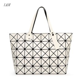 Wholesale 2016 New BaoBao Women Pearl Bag Diamond Lattice Tote Geometry Quilted Shoulder Bag Sac Bags Handbags For Women Totes Famous Brands