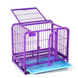 Wholesale New Arrival Dogs Pets Cage Double Doors Dog Cat Kennel Puppy Kitten Indoor Outdoor Garden Crate Playpen for Dogs Fence JJ0047