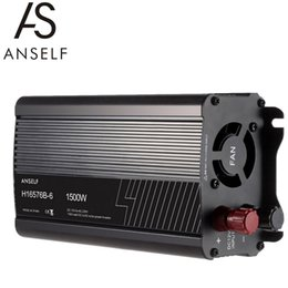 Wholesale ANSELF W DC12V to AC220 V AC Household Solar Power Inverter Converter Modified Sine Wave Form H16576