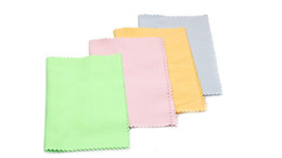 Wholesale Microfiber Cleaning Cloth piece for Lens Eyeglasses Glasses Screen iPad iPhone Tablet Cell Phone Lint FREE Non Abrasive Cleaner