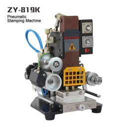 ZY-819K Automatic Stamping Machine,leather LOGO Creasing machine,LOGO stamper,High speed name card Embossing machine