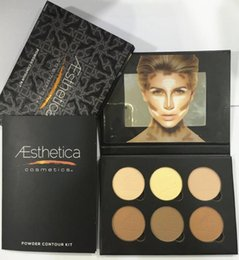 Wholesale Aesthetica Cosmetics Contour and Highlighting Powder Foundation Palette Contouring Better Than ABH Beverly Hills Makeup Kit NYX Kylie