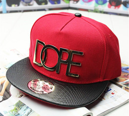 Wholesale Sell Spring Letter - 1PC New Baseball Cap Hip Hop Flat Hats Men Women Punk Hats Dancing Sun Visor Snapback Outdoor Topee Metal Letter Decoration Hot Selling