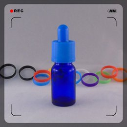Free Shipping 30ml Round Shape Glass Bottle with Childproof Cap Dropper E Liquid Bottle Empty Bottles