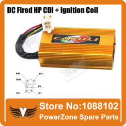 Wholesale Perofmrance Ignition Coil Square DC Fired CDI pin Fit CG CB cc cc cc Motorcycle ATV Quad Dirt Bike