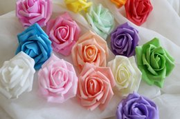 2016 hot sale decorative flowers high quality artificial rose flower head fashionable party decoration wedding decorations