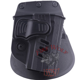 Wholesale Hunting Right Hand Belt Loop Paddle HKCH Rapid Release System Belt Holster Fits Tactical Gun H K U S P Compact mm