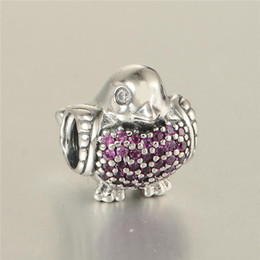 European charms beads animals S925 sterling silver jewellery fits for pandora style bracelet and necklace free shipping LW589