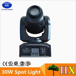 Wholesale Hot good quality W LED Spot Light DMX512 Master Slave Auto Run Sound controller Moving Head Light DJ Bar Performance
