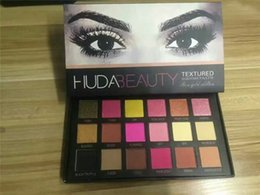 Wholesale IN Store HUDA Beauty colors Shimmer Matte Eyeshadow Palette Pro Eyes Makeup Cosmetics