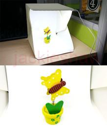 Flash Diffuseurs Portable Mini Kit Photo Photographie Studio Boîte lumineuse Softbox Photographique avec des fonds 226 * 230 * 240 mm photo lumière tente à partir de photo boîte de tente fournisseurs
