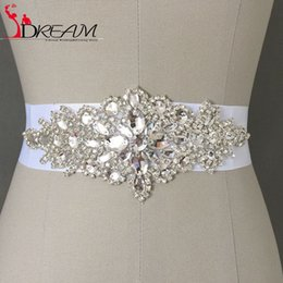 Wholesale 2016 New Fashion Promotion Crystals Robbin Sash for Bride Artificial Wedding Belt for Weddings Real Images