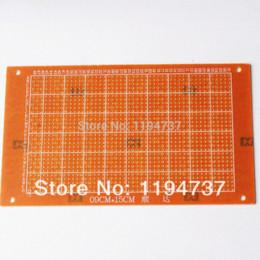 2016 единая панель 50шт 9x15cm Односторонний Прототип бумаги PCB 9 * 15 печатных плат Универсальная плата Тест печатной платы панели одного единая панель сделка
