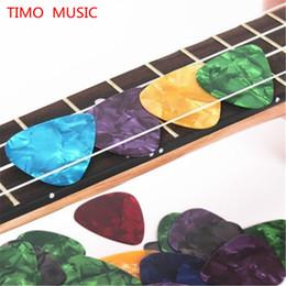 Wholesale 100pcs mm Guitar Picks Acoustic Electric Plectrums Celluloid Assorted Colors
