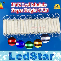 2017 caso ce 2016 Newsest COB Led Modules ABS Módulos de inyección Case 2W 12V Waterproof Led Modules de luz Blanco / cálido Azul Rojo Verde Amarillo descuento caso ce