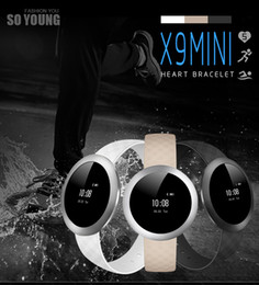 Wholesale X9 Mili Smart Bracelets First full Circle s all alloy body ceramic antenna full touch screen operator smart Wristband vs xiaomi mi Wristband