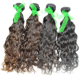 Peruvian Water Wave Unprocessed Best Human Hair Extensions 3pcs lot On Sale