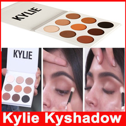 Wholesale in stock Kylie Cosmetics Bronze Eyeshadow Jenner Kyshadow Pressed Powder Kit Palette Bronze Preorder New Makeup colors Long lasting Matte