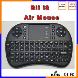 Wholesale USA DHL Free Ship Fly Mouse For Google Tv Box MINI PC Touch Flying Squirrel A21 G Wireless Qwerty Wifi keyboard RII I8