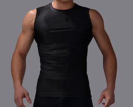 Wholesale Custom fit concise magnetic quick dry passionate exercise gym vest show muscles for men with sportswear styles