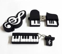 Usb chaud lecteur flash à vendre-Hot Sale Instrument de musique Piano Remarque Usb Flash Drive Usb Memory Stick 4Go 8Go 16Go flash de 2 Go Memory Stick Pen Disk Drive