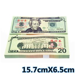 Wholesale USA BANKNOTES Dollars Bank Staff Training Collect Learning Banknotes Arts Gifts Home Arts Crafts