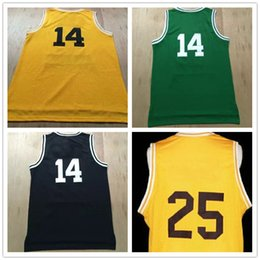 Wholesale Movie Basketball Jersey Fresh Prince Jersey Top Quality Stitched Logos Bel Air Academy Jersey Yellow Green Black