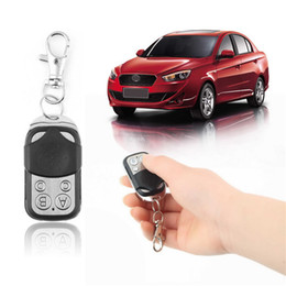 Wholesale Universal Electric Wireless Auto Remote Control Cloning Universal Gate Garage Door Control Fob mhz mhz Key Keychain Remote Control