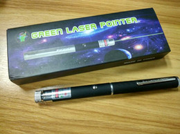 Wholesale Best Green laser pointer in Star Cap Pattern nm mw Green Laser Pointer Pen With Star Head Laser Kaleidoscope Light with Package DHL