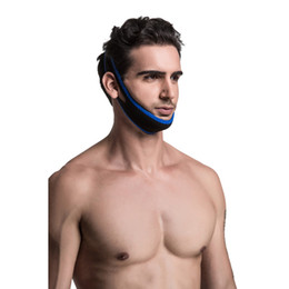 Wholesale Stop Snorin Anti Snore Chin Straps Adjustable Anti Snoring Apparatus with Chin Straps Natural and Instant Snore Relief Stop Snoring Solution