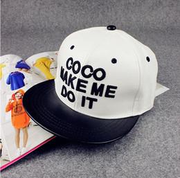 Wholesale 2016 New Brand Design Sample Letters Snapback caps for man Black White Baseball Women Men Hip Hop Hats